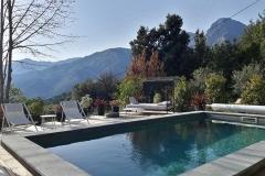 bassin de la Casa Santa Lucia - chambres d'hôtes à Bocognano