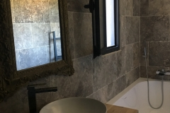 Salle de bain de la Suite Santa Lucia - Bed & Breakfast en Corse du Sud